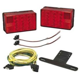 """Buy Wesbar 407560 4"""" x 6"""" LED Trailer Light Kit - Boat Trailering"""