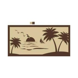 Buy  MAT SPX BEACH PALM TREE BEIGE 9 X18 - Camping and Lifestyle Online|RV