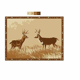 Buy  MAT SPX DEER FACE OFF BEIGE 9 X 12 - Camping and Lifestyle Online|RV