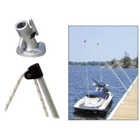 Buy Dock Edge 3100-F Economy Mooring Whips 8ft 2000 LBS up to 18ft -