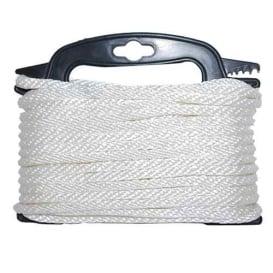 """Buy Attwood Marine 117553-7 Braided Nylon Rope - 3/16"""" x 100' - White -"""