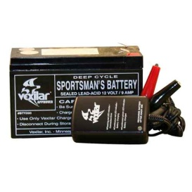 Buy Vexilar V-120 Battery & Charger - Portable Power Online RV Part Shop
