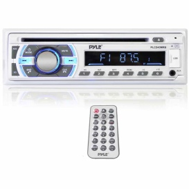 Buy Pyle PLCD43MRB Marine Radio Cd/Mp3/Usb/Aux/Bt - Marine Audio Video