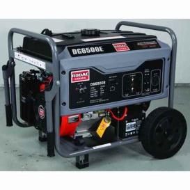 Buy Rodac DG6500X 6.5 Kw Petrol Generator - Garage Accessories Online|RV
