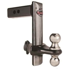 """Buy Trimax TRZ8SFP Stainless Face Plate 8"""" Drop - Ball Mounts Online RV"""
