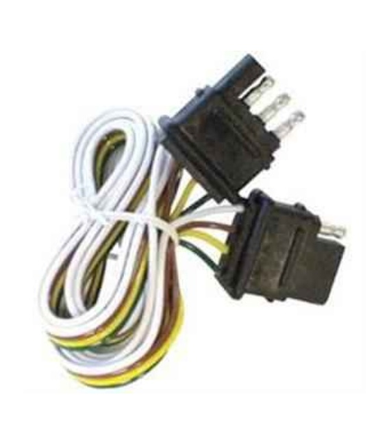 Buy Pollak 12413E 4 Way Male To Female Loop - Towing Electrical Online RV