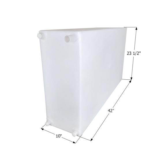 Fresh Water Tank WT3618 - 40 Gal. w/Fittings