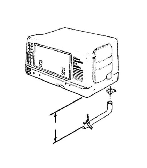Buy Cummins 1552325 2800 Tailpipe Aluminized Steel - Generators Online RV