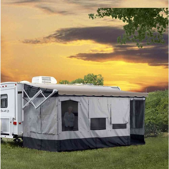 Buy Carefree 291000 Vacation'r Awning Rooms for 10'–11' Awnings - Awning
