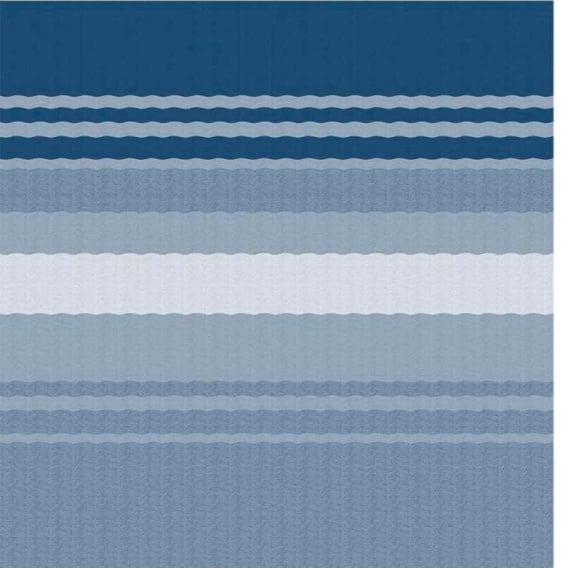 Buy Carefree EA128E00 Fiesta Springload Awning Awning Ocean Blue Stripe