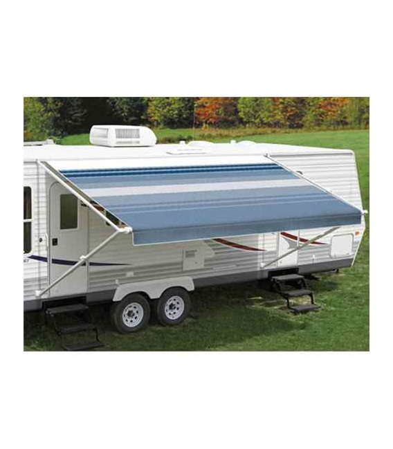 Buy Carefree EA178E00 Fiesta Springload Awning Awning Ocean Blue Stripe