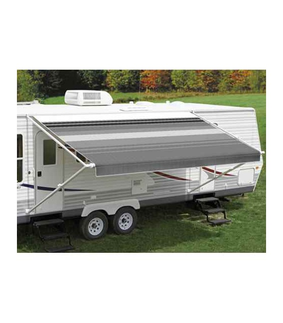 Buy Carefree EA186A00 Fiesta Springload Awning Awning Burgundy Fade 18' -