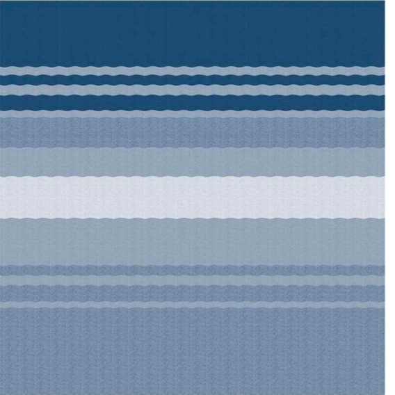 Buy Carefree EA208E00 Fiesta Springload Awning Awning Ocean Blue Stripe
