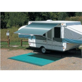 """Buy Carefree 981578A00 CampOut Bag Awning 13'1"""" Sierra Brown Stripe -"""