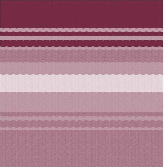 """Buy Carefree 981388B00 CampOut Bag Awning 11'6"""" Bordeaux Stripe - Patio"""
