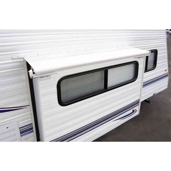 """Buy Carefree LH0490042 Slideout Cover Awning 53"""" White - Slideout Awnings"""