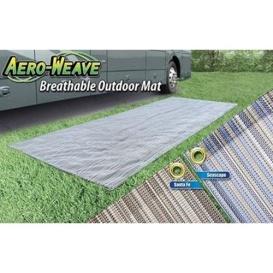Breathable Outdoor Patio Mat 6X15 Seascape