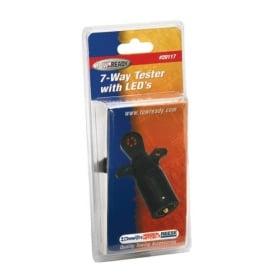 7-Way Flat Pin Car End Tester w/LED Display