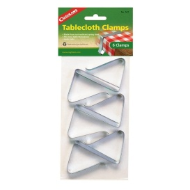 Buy Coghlans 8634 Tablecloth Clamps Steel 6/Pk - Camping and Lifestyle