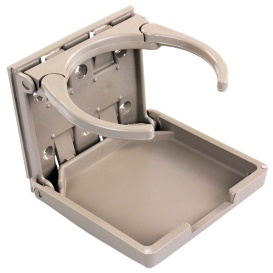 Buy JR Products 45623 Adjustable Drink Holder Tan - Tables Online RV Part
