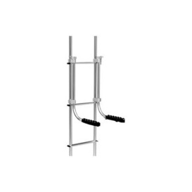 Ladder Mounted Chair Rack