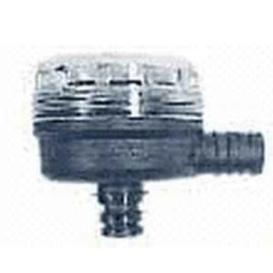 """Stainless Steel Strainer 90-deg 1/2"""" Pipe"""