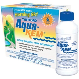 Buy Thetford 96127 Aqua Kem Morn Sky 8 Oz 6Pk - Sanitation Online|RV Part