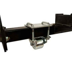 "Hitch Mount Steel Roller 3"""