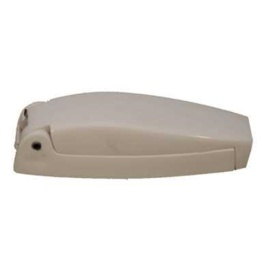 Baggage Door Catches Plastic Colonial White