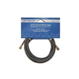 Coaxial Cable RG-6 12'