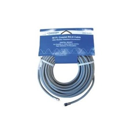 Coaxial Cable RG-6 50'