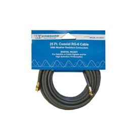 Coaxial Cable RG-6 25'