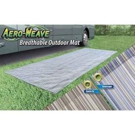 Breathable Outdoor Patio Mat 7.5X20 Seascape