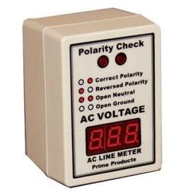 AC Line Monitor/Polarity Tester