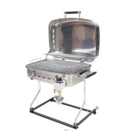 Barbecue (Stainless) w/QD Disposable Bottle Adapter