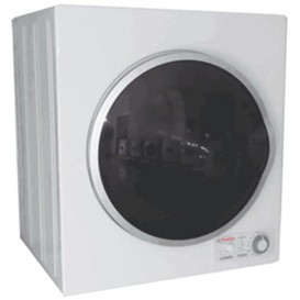 Complete Dryer White w/Silv Trim