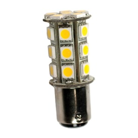 1076 Bulb 24 LED Soft White 12V