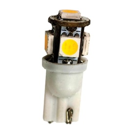 922 Bulb 5 LED Soft White 12V