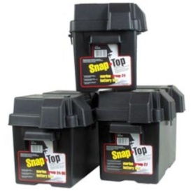 Snap-Top Battery Box Standard Black