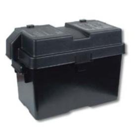 Snap-Top Battery Box Medium Black