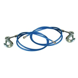 """1 Pair 64"""" EZ-Hook Safety Cables"""