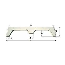 Coachmen Shasta Single Axle FS1710 - Polar White