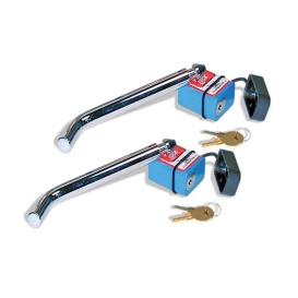 2-Pk Receiver Hitch Locks