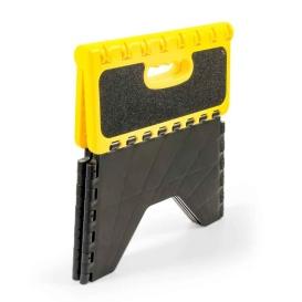 Yellow/Black Non Skid RV Folding Step Stool