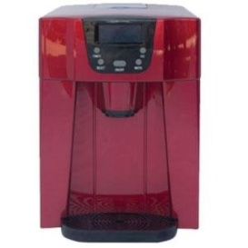 COUNTERTOP ICE MAKER RED