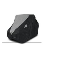 Deluxe UTV Storage Cover Black Mid Size