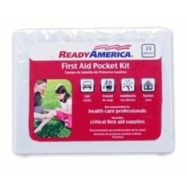 POCKET FIRST AID KIT 33PC