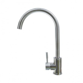 STAINLESS STEEL CURVED GOOSENECK FA