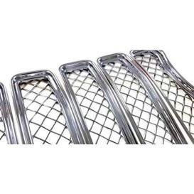 Chrome ABS 7 Pieces With Bezel Body Trim Molding Trims