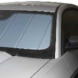 Custom Sunscreen: 2009-14 Fits Ford F-150 Pickup (Blue Metallic)